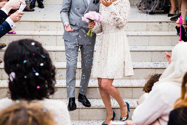 とあるカップルの結婚式